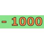 - 1000