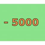 - 5000